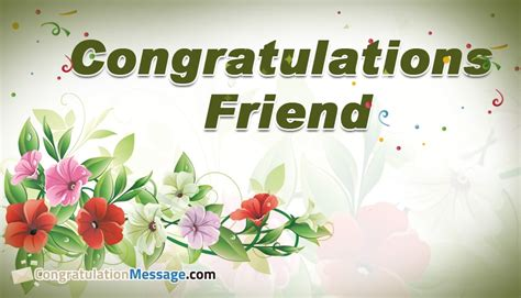 Wedding Congratulation To A Friend by Congratulations Friend Congratulationmessage
