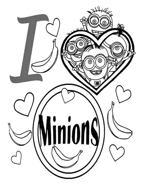 imagenes de minions para colorear tiernos divertidas im 225 genes de los minions con dibujos para