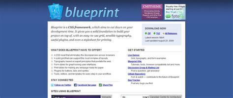 tutorial css framework the blueprint framework tutorials how to guides and tools