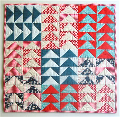 simple flying geese quilt tutorial suzy quilts