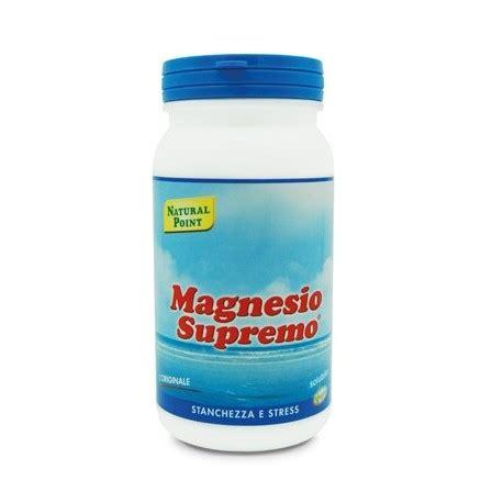 integratore magnesio supremo magnesio supremo 150 gr integratore alimentare in polvere
