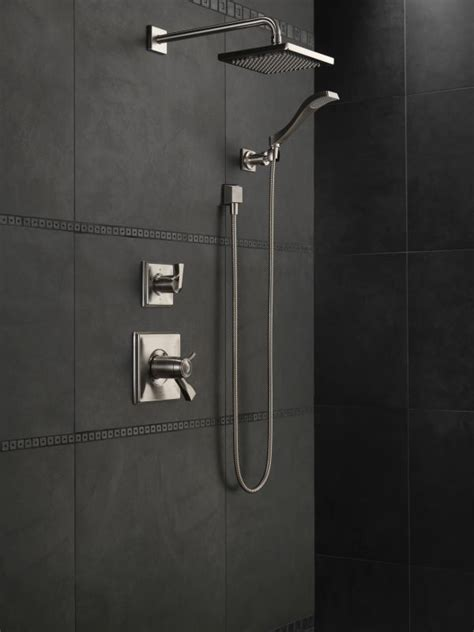 Delta Shower by Faucet 50570 Ss In Brilliance Stainless By Delta