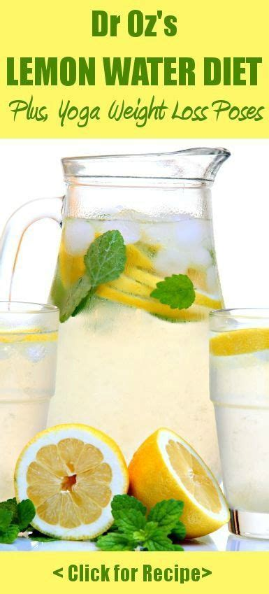 What Is Detox Water Diet by Lemon Water Detox Detox And Detox Diets On