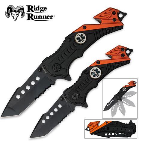 ems pocket knife emt assisted opening rescue pocket knives set budk