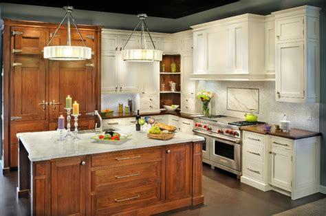 showroom displays traditional kitchen cabinetry display kitchen for insignia s showroom traditional