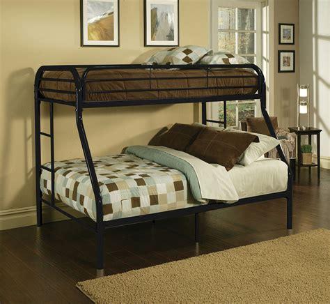 kids childrens unique twin  full metal bunk bed bedroom furniture