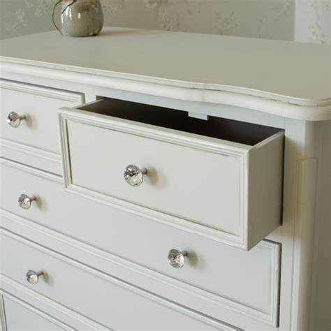 grey chest of drawers bedroom grey chest of drawers french shabby chic ornate crystal