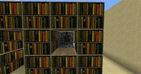 bookshelf custom bookcase minecraft bookcase plans