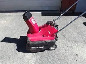 Honda Hs35 Snowblower Object Moved