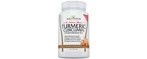 supplement quality reviews quality nature supplements turmeric curcumin review