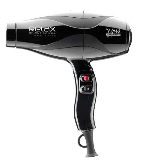 Hair Dryer Silent salon hair dryer relax power from gamma piu the