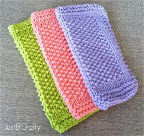 all free knitting patterns learn how to knit with a knit dishcloth pattern 10