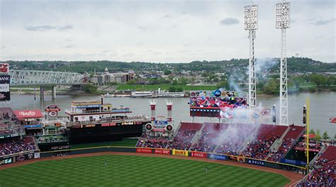 great american great american park cincinnati reds stadium journey