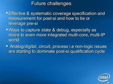 integrated circuit qualification intel atom processor pre silicon verification experience