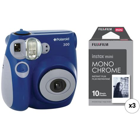 polaroid 300 instant blue polaroid 300 instant with instant kit blue