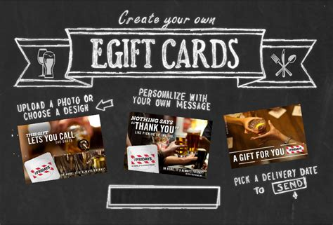 Tgi Friday Gift Card Balance - egift cards gift cards tgi fridays casual dining restaurant bar