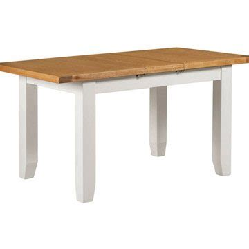 Willow White Small Extending Dining Table The Haven Home Small White Dining Table