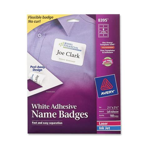avery templates for name badges avery name badge label ld products