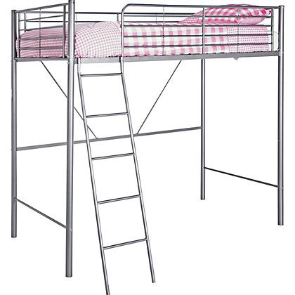 Metal High Sleeper Bed Frame by Metal High Sleeper Bed Frame At Homebase Be Inspired