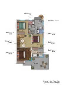 10 marla plot home design 10 marla house plan with basement home plans pinterest