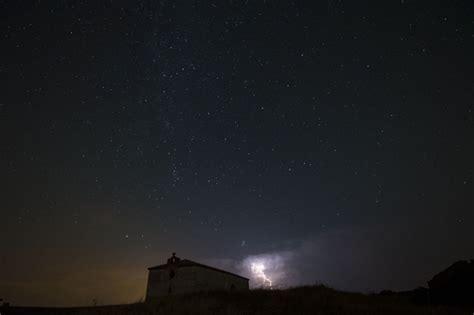 Meteorite Shower August by Perseid Meteor Shower