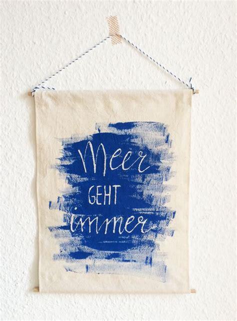 Kunstdruck Selber Herstellen by Binedoro Diy Stoffmalerei Handlettering