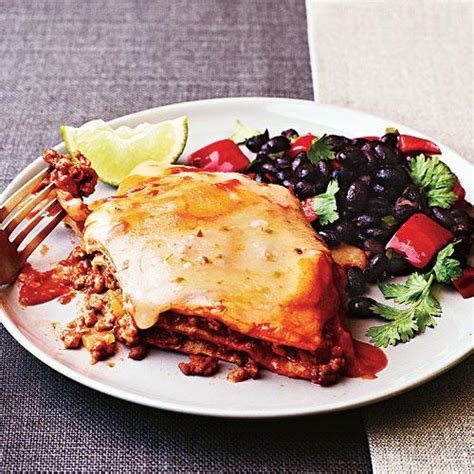 Cooking Light Enchilada Casserole by Enchilada Casserole Healthy Enchilada Recipes Cooking