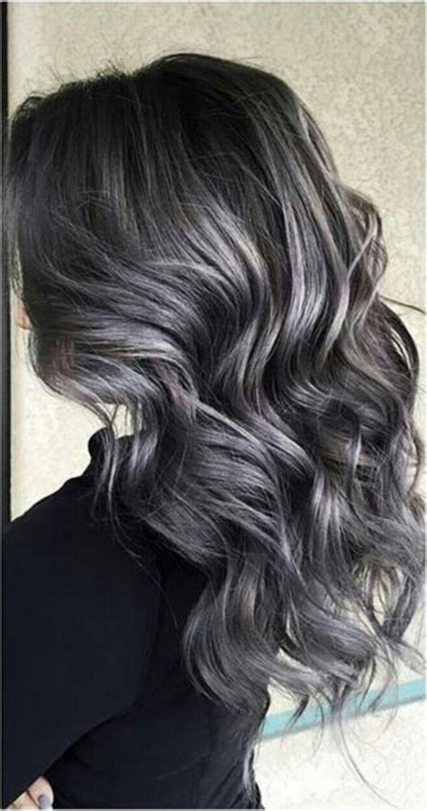 absolutely stunning silver gray hair color ideas hair