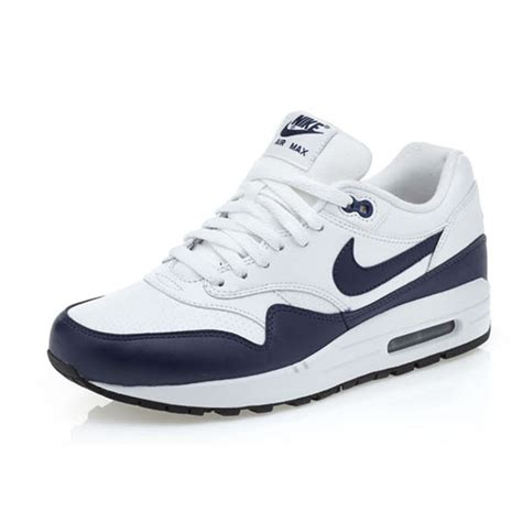 Sepatu Nike Airmax Zero Import Navy nike air max 1 leather mens 654466 101 white navy blue running shoes size 7 5 ebay