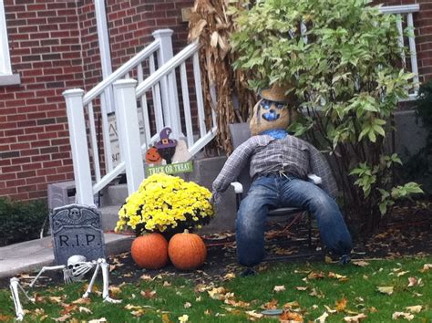 make outside decorations scary decorations outside furniture