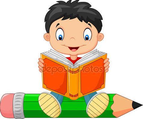 imagenes animadas leer descargar ni 241 o leyendo un libro de dibujos animados