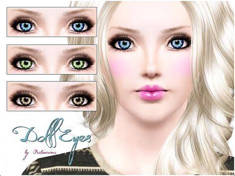 tutorial makeup doll eyes pralinesims doll eyes