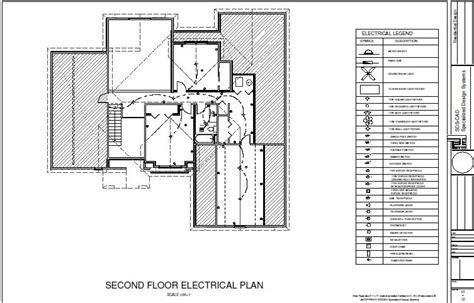 electrical floor plan pdf house10 2nd floor electric plan sds plans