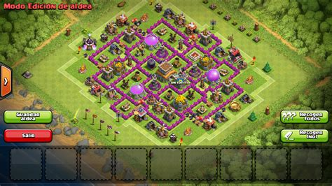 clash of clans ayuntamiento de aldea 8 thundercoc thunder clash of clans aldea ayto nivel