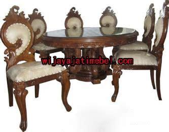 Kursi Buat Pangkas Rambut kursi makan upin ipin meja bundar kursi makan ukir harga wijaya jati mebel
