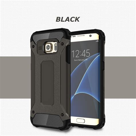 rugged cover heavy shockproof hybrid rugged cover for samsung galaxy s8 s7 s6 note 5 4 ebay