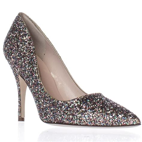kate spade licorice pointed toe dress pumps multi