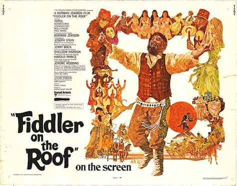 film up on the roof brian terrill s 100 film favorites 61 quot fiddler on the