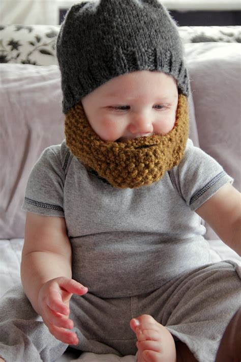 knitted hat with beard 4 knitted beard hat patterns the funky stitch