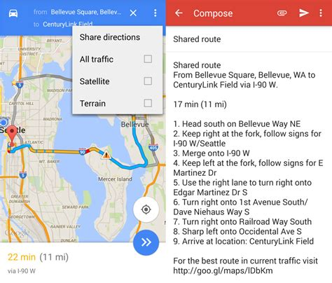 map directions to and from how to directions in maps for android