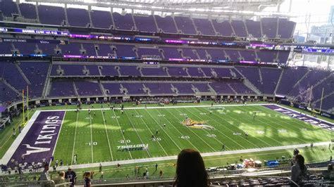 ultimate fan zone us bank stadium u s bank stadium section 214 rateyourseats com