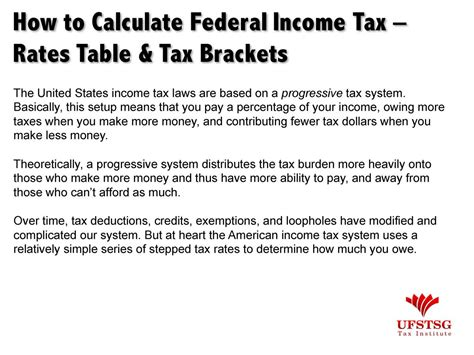 How To Calculate Federal Income Tax Rates Table Tax | tax professional value propositi simplebooklet com