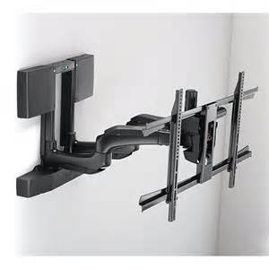 Fully automated swivel tv wall mount with smooth tilt and swivel