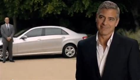 George Clooney To Drive Smart Car by Mercedes Chooses Clooney Charm To Sell E Class L
