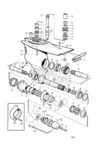 Volvo Penta Outboard Parts Volvo Penta Exploded View Schematic Lower Gear Unit