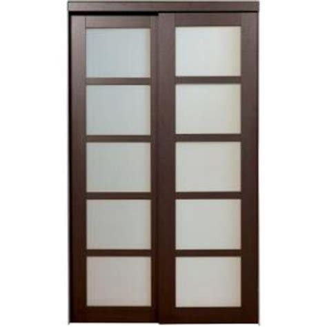 Glass Closet Doors Home Depot Modern Sliding Closet Doors Home Depot