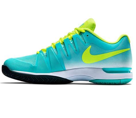nike zoom vapor 9 5 tour s tennis shoes yellow
