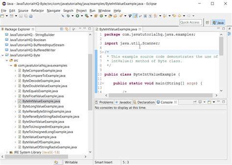 java pattern value java byte intvalue method exle