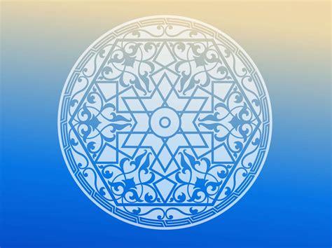 islam circle vector art graphics freevectorcom