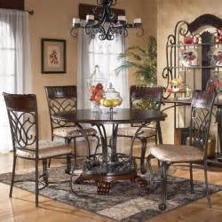 Ashley Furniture Dining Room Tables by D345 15 Ashley Furniture Alyssa Round Dining Room Table
